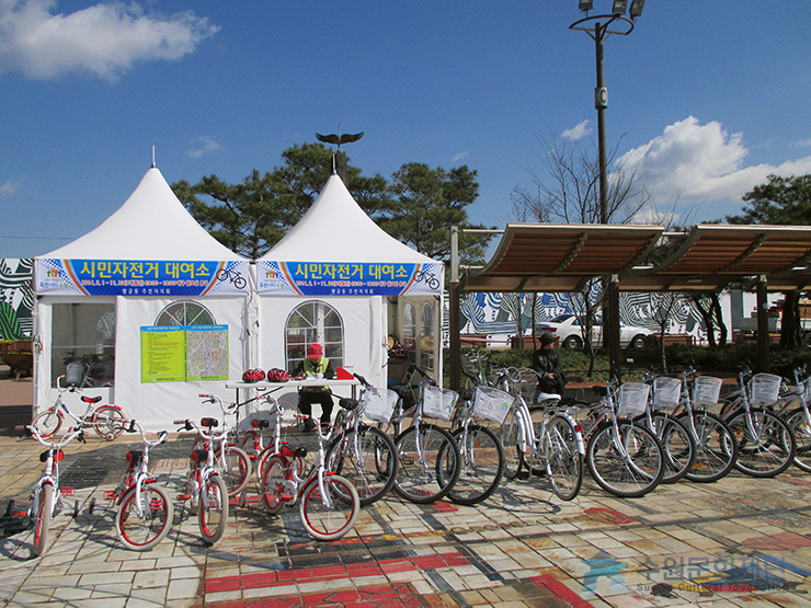 bicycle rental shop