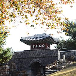 서남암문과 서남포사 전경사진