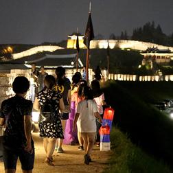 수원화성 달빛동행 행사사진